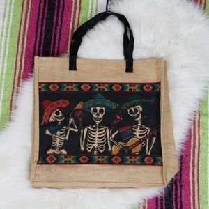 2/$16 ~ Day of the Dead / Halloween Tote Bag